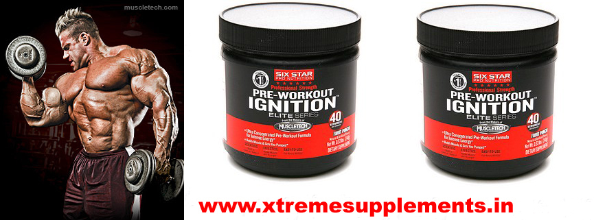 MUSCLETECH SIX STAR PRE WORKOUT IGNITION PRICE INDIA DELHI