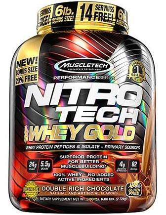 muscletech nitrotech whey gold 6 lbs