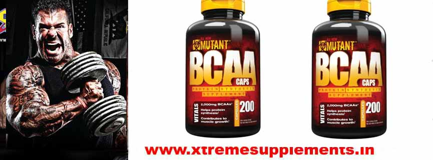 MUTANT BCAA  200 CAPS PRICE  INDIA