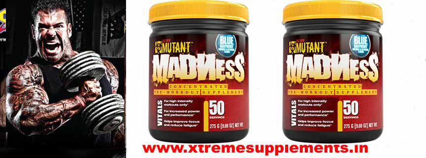 MUTANT MADNESS PREWORKOUT 50 SERVINGS PRE WORKOUT PRICE INDIA
