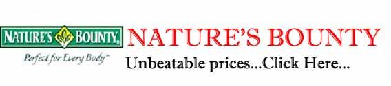 NATURE'S BOUNTY SUPPLEMENTS DELHI INDIA