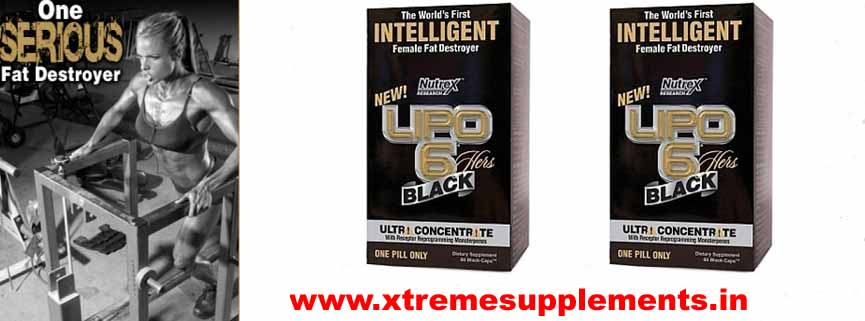 NUTREX LIPO 6 BLACK HERS ULTRA CONCENTRATE PRICE INDIA