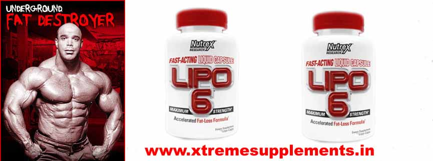 NUTREX FAST ACTING MAXIMUM PERFORMANCE LIPO 6 PRICE INDIA