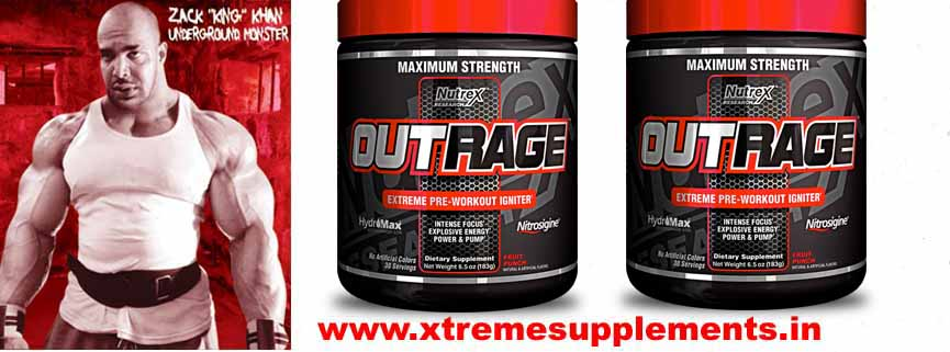 NUTREX OUTRAGE PREWORKOUT PRICE INDIA