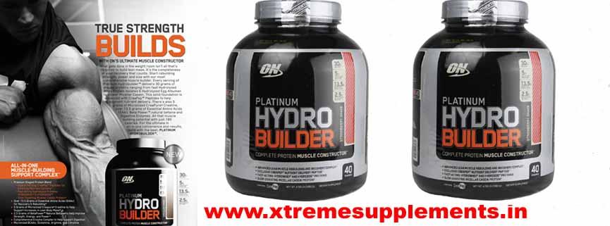 OPTIMUM NUTRITION PLATINUM HYDRO BUILDER PRICE INDIA