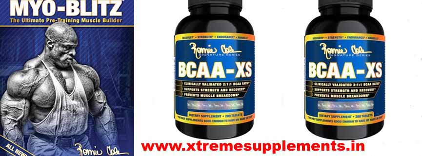 RONNIE COLEMAN BCAA-XS PRICE INDIA