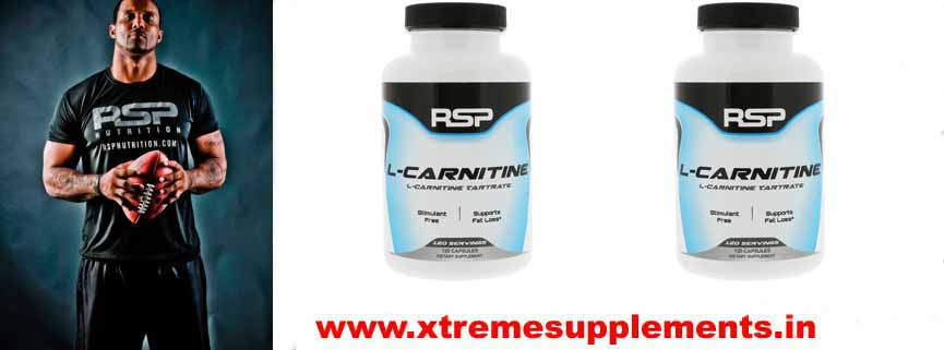 RSP NUTRITION L CARNITINE 120 CAPS PRICE INDIA
