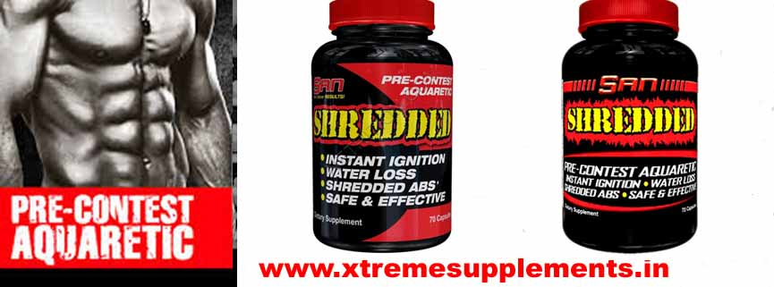 SANSHREDDED PRE CONTEST FAT BURNER PRICE INDIA