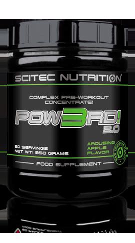 SCITEC NUTRITION POW3RD! 2.0  Complex Pre-Workout Concentrate PRICE DELHI