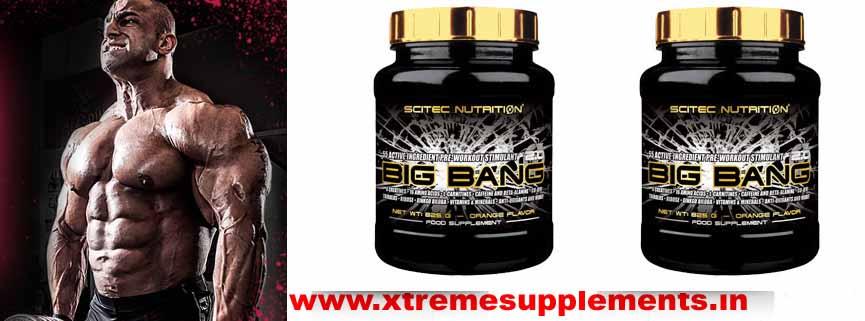 SCITEC NUTRITION BIG BANG 825 GMS