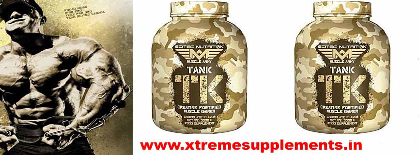 SCITEC NUTRITION MUSCLE ARMY TANK TK 3 KG