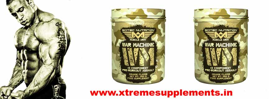 SCITEC NUTRITION MUSCLE ARMY WAR MACHINE 350 GMS