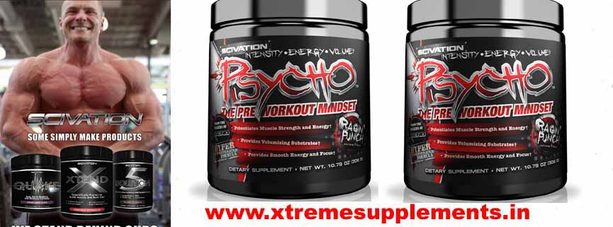 SCIVATION NUTRITION PSYCHO PRE WORKOUT PRICE INDIA
