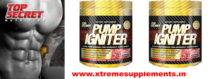 TOP SECRET PUMP IGNITER PRE WORKOUT DELHI INDIA PRICE