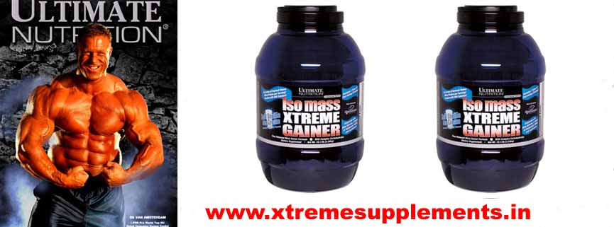 UNLIMITED NUTRITION 100% ULTIMATE NUTRITION ISO MASS XTREME GAINER 10LBS