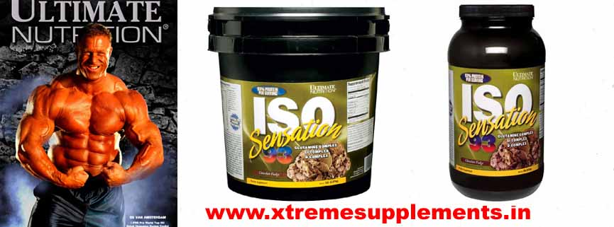 ULTIMATE NUTRITION ISO SENSATION 93 PRICE INDIA