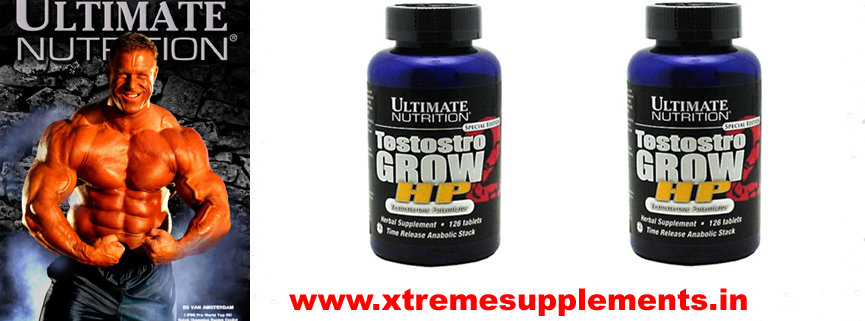 ULTIMATE NUTRITION TESTOSTRO GROW HP PRICE DELHI