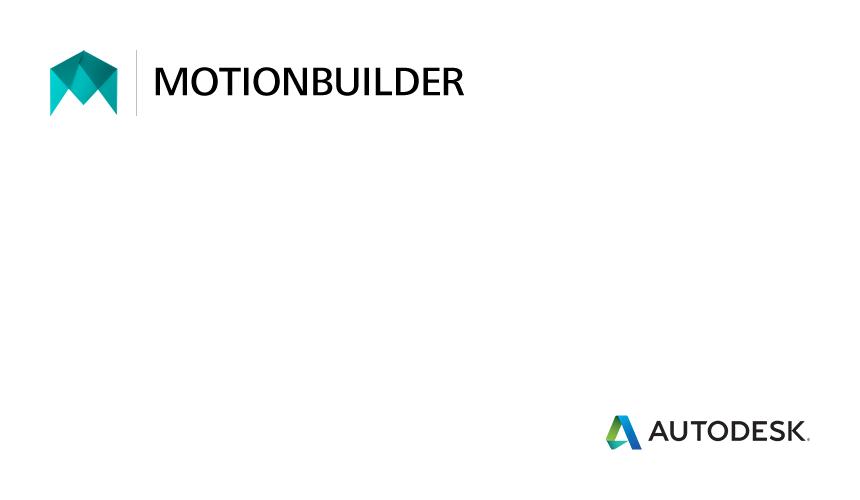 MotionBuilder Online Training