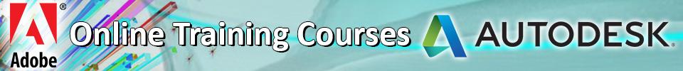 Online Training Courses on Autodesk & Adobe
